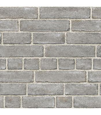 WallPops NuWallpaper Peel & Stick Wallpaper-Brick Facade