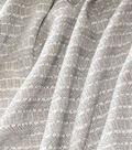 Waverly Designer Upholstery Fabric 54\u0022-Admiral Stripe Nikel