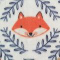 Nursery Fleece Fabric-Eamon Circle Faces