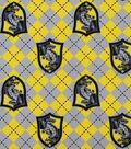 Harry Potter Flannel Fabric 42\u0022-Hufflepuff Argyle