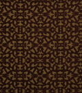 Home Decor 8\u0022x8\u0022 Fabric Swatch-Robert Allen Tuscan Scroll Cayenne