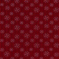 Christmas Cotton Fabric-Stitched Snowflakes