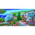 Diamond Dotz Diamond Embroidery Facet Art Kit 42.5\u0027\u0027X22.75\u0027\u0027-La Provence