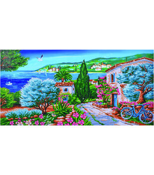 Diamond Dotz Diamond Embroidery Facet Art Kit 42.5''X22.75''-La Provence