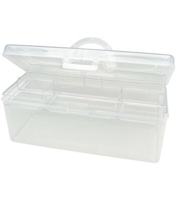 Darice Clear Plastic Craft Tote