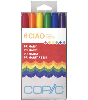 Copic Ciao Markers-Primary