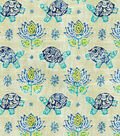 Waverly Lightweight Decor Fabric 54\u0022-Mandana/Prussian