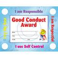 Hayes Good Conduct Certificates & Reward Seals, 30 Per Pack, 6 Packs