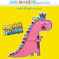 Little Makers Makit & Bakit Suncatcher-Dinosaur King