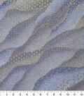 Premium Cotton Fabric 44\u0027\u0027-Blue Packed Waves