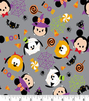 "Tsum Tsum Halloween Flannel Fabric 42""-Specstackular, , hi-res"