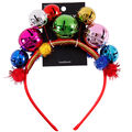 hildie & jo Christmas Holiday Large Jingle Bell Headband-Multi