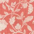 Waverly Upholstery Décor Fabric 9\u0022x9\u0022 Swatch-Stencil Vine Coral