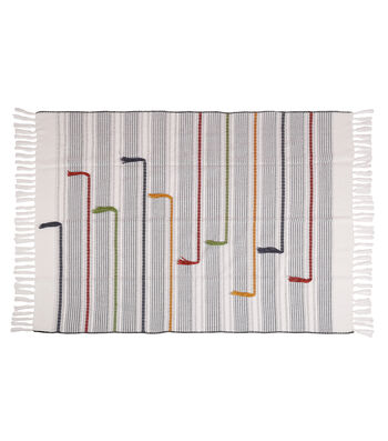 Camp Ann 50''x60'' Woven Throw-Multicolor