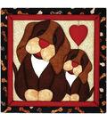 Puppy Love Quilt Magic Kit-12\u0022X12\u0022