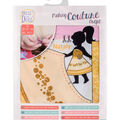 Vervaco Dress Your Doll Making Couture Outfit Set-Nataly Gold
