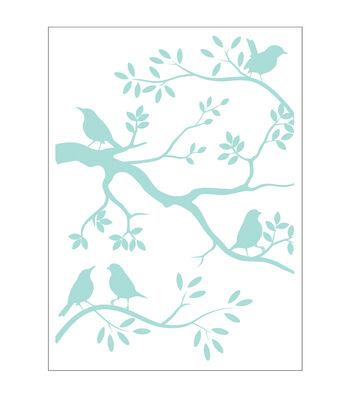Park Lane A2 Embossing Folder-Birds