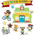 Hipster It\u0027s Hip to Be in School Bulletin Board Set