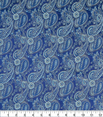 Paisley Fabric-Serenity