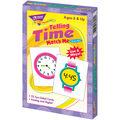 TREND enterprises, Inc. Telling Time Match Me Cards, 6 Sets