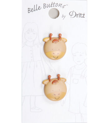 Dritz Belle Button Juvenile Giraffe