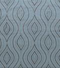 Home Decor 8\u0022x8\u0022 Fabric Swatch-Print Fabric Eaton Square Etching Lagoon