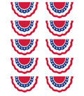 Teacher Created Resources Patriotic Accents, 30 Per Pack, 3 Packs