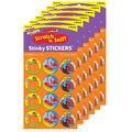 Fall Friends-Pumpkin Stinky Stickers 48 Per Pack, 6 Packs
