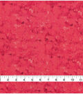 Keepsake Calico Glitter Cotton Fabric-Coral Marble Blender