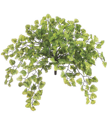 Bloom Room 15'' Maidenhair Fern Bush-Green