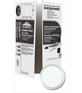 Elmer's Guide-Line Corrugated Tri-Fold Display Board 36 x 48