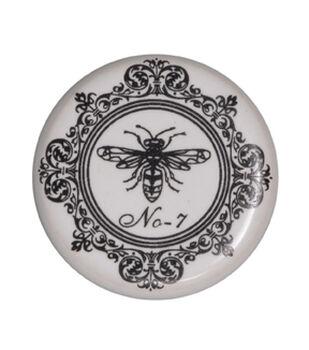 Dritz Home Ceramic Bee Knob