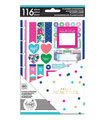The Happy Planner Girl Mini Accessory Pack - Socialite