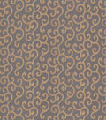 Home Decor 8x8 Fabric Swatch-Eaton Square Assignment Copper