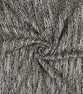Lightweight Decor Fabric-Heavy Chenille Jacquard Gray/Black