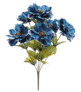 Blooming Autumn 17'' Anemone Bush-Dark Blue