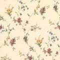 Yelena  Floral Trail Wallpaper