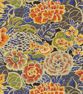 Waverly Upholstery Fabric 54\u0022-Pieceful Porcelain