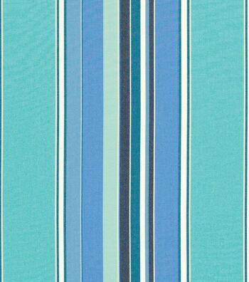"""Sunbrella Outdoor Stripe Fabric 54""""-Dolce Oasis"""