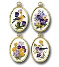 Janlynn Wildflowers & Finches Embroidery Kit