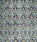 Home Decor 8\u0022x8\u0022 Fabric Swatch-Print Fabric Eaton Square Cartwheel Turquoise
