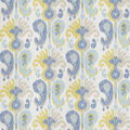 Home Decor 8x8 Fabric Swatch-Eaton Square Documentary Aquarmarine