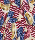 Patriotic Cotton Fabric 43\u0027\u0027-Patriotic Eagles