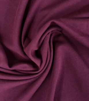 Loungeletics Performance French Terry Fabric-Fig