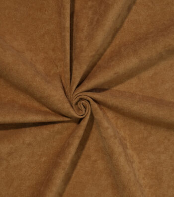 Halloween Alova Suede Fabric 60''-Light Brown