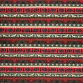 Super Snuggle Flannel Fabric-Woodland Animals Striped