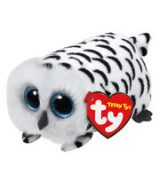 Ty Teeny Tys 4'' Nellie White Owl, , hi-res
