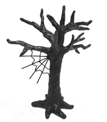 Maker's Halloween Littles Spooky Tree with Spiderweb
