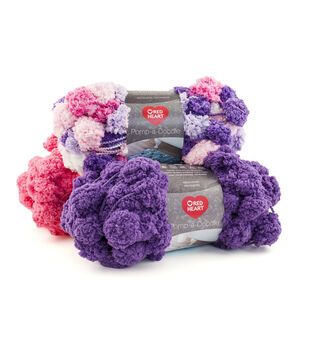 Red Heart Pomp-a-Doodle Yarn