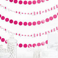 Cheer & Co. 13 pk 6\u0027 Party Backdrops-Bright Pink